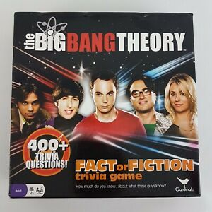 The Big Bang Theory Board Game Fact or Fiction 400+ Trivia Questions 12+
