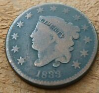 1833 Large Cent   #LC1833
