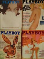 4 Must Have 70's Playboy College Girls Issues | 1971 1976 1978 1980      #1395