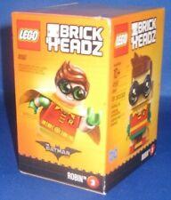 DC COMICS THE BATMAN MOVIE BRICK HEADZ  ROBIN  #3 101PCS 41587 NEW