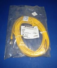 TURCK KB 5T-6 5 CONDUCTOR, 22 AWG MICROFAST CORD SET *NEW IN BAG*
