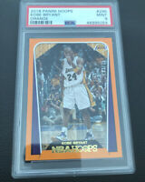 POP 1! 2018 PANINI NBA HOOPS KOBE BRYANT ORANGE /25 PSA 9 #296 MINT RARE