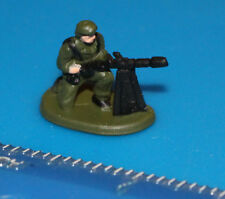 Military Micro Machines Green SOLDIER Figure #53 Galoob Heavy Machine Gunner