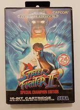 Street Fighter II  Special Champion Edition Sega Mega Drive  Europea completo