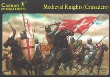 Caesar Miniatures 1 72 Medieval Knights Crusaders 017 Plastic Toy Soldiers New