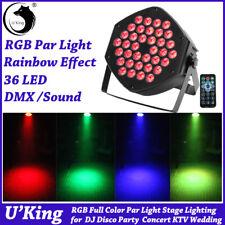 RGB 36 LED Par Light Bühnenlicht 7CH DMX512 DJ Disco Club Party Show Beleuchtung
