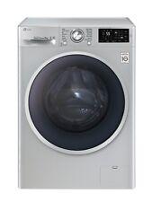 LG F14U2TDN5 8kg Silver Washing Machine, Smart Technology