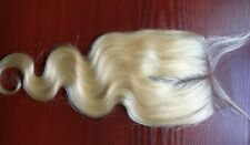 Brazilian human hair lace front topper color blonde 613