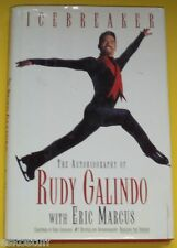 Icebreaker - Rudy Galindo 1997 First Edition Skating Autobiography Nice See!