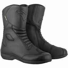 Bottes noirs pour motocyclette homme 100% cuir