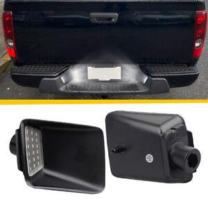 2 PCS For 2004-2012 Chevrolet Colorado White LED License Plate Light Assembly SS