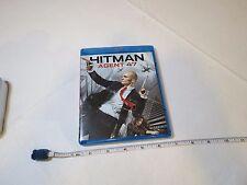 Hitman agent 47 blu ray movie disc BLU-RAY Rupert Friend killing machine Hannah