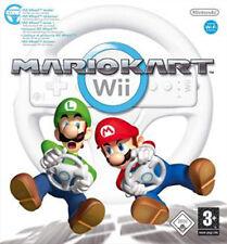 2009 Nintendo Wii Mario Kart Game Driving Wheel Controller UK PAL Boxed