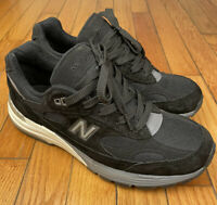 Men's New Balance 992 Made In USA Black M992BL Size 8 D