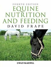 Equine Nutrition and Feeding by Frape  New 9781405195461 Fast Free Shipping+=