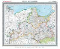 Provinz Westpreussen 1905- Historische Karte (Reprint)
