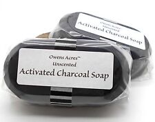 Activated Charcoal Soap for Problem Skin, Blemishes, and Breakouts