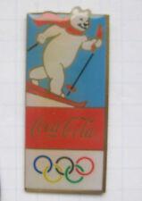 COCA COLA / OLYMPISCHE SPIELE EISBÄR ...............Wintersport Pin (135j)