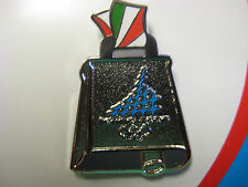 Torino 2006 Olympic Pin - Italy Cowbell