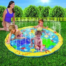 """Water Play Mat Kids Summer Play Fun Water Field Sprinkles Mat Garden Outdoor 54"""""""