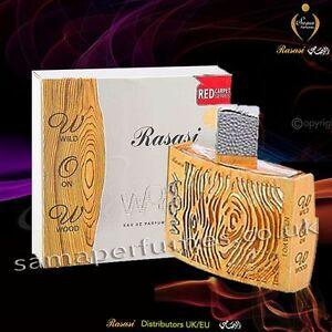 Rasasi Woody for Women 55ml - Distributors of RASASI Perfumes UK