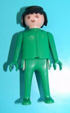 Playmobil 1974 Green Klicky Man Classic Style Black Hair to 15 Playsets