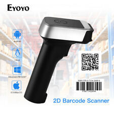 1D & 2D Wired & 2.4G Wireless Barcode Scanner 1800mah Battery for Android Tablet