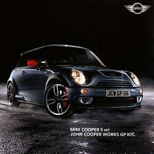 MINI COOPER S WORKS GP KIT JCW Sportcar Prospekt Brochure mit Preisliste 2006 8