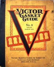Victor Gasket Catalog BLUE ASBESTOS Dana Holding Automobile Aircraft Engines '31