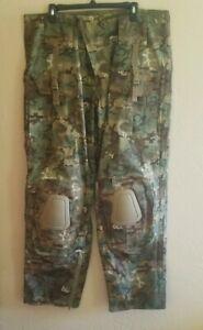"Men's Combat Pants ""Warrior"" Sturm MIL-TEC Knee Pads Size XL"