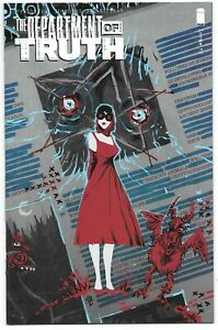 The Department of Truth #10 (06/2021) Image Comics Michael Dialynas Variant