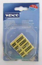 WENKO etichette autoadesive 10Pz etichetta di ricambio x fissare oggetti nuovo