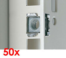 50x RITTAL EINSTECKMUTTER M5 5mm 2094.500 2094500 FÜR SERVERSCHRÄNKE #RT02