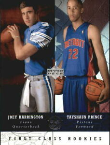 2002-03 UD SuperStars Multi-Sport Card #267 J.Harrington/T.Prince