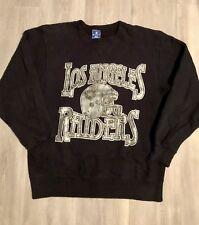 8536440ca Vtg Champion Los Angeles Raiders Crewneck Sweatshirt 80 s 90 s Pre Owned USA
