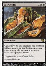MAGIC MTG - LATROCINIO -  RARA - ORO - ITALIANO - BORDO BIANCO