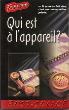 livre frissons Qui est a l'appareil #2