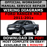 # OFFICIAL WORKSHOP Repair MANUAL for FORD RANGER MK3 2011-2017 WIRING #