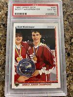 1990 Upper Deck Hockey Scott Niedermayer ROOKIE RC #461 PSA 10 GEM MINT #2
