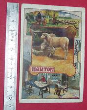 CHROMO BON-POINT ECOLE 1900-1910 BILLET DE SATISFACTION MOUTON