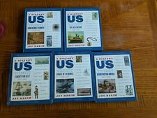 A History of US: Liberty for All, 1735-1917 5 Joy Hakim Hardcover Lot of 5 Books