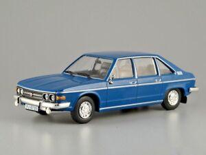 Tatra 613 Czechoslovak Passenger Blue Car Luxury class 1:43 Scale Diecast Model