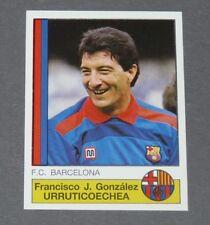 55 URRUTICOECHEA BARCELONA PANINI LIGA FUTBOL 87 ESPAÑA 1986-1987 FOOTBALL