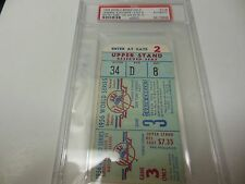 1956 WORLD SERIES GAME 3 TICKET STUB AUTHENTIC DODGERS YANKEES PSA CERTIFIED