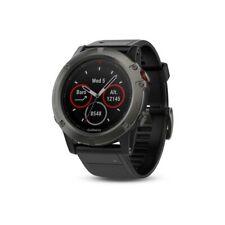 Garmin fenix 5X saphir grau mit schwarzem Armband 51mm wasserdicht Smartwatch