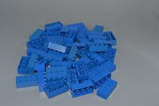 LEGO 50 x Basisstein 2x4 blau | blue basic brick 3001 300123