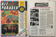 Hit Parader February 1968 Vintage Music Doors Eric Burdon Who Procol Harum