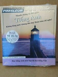Pimsleur English for Vietnamese Speakers NEW Mint Factory Sealed Reduced