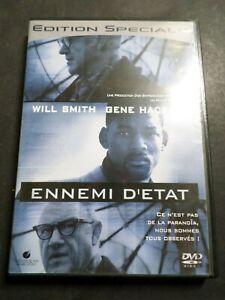 DVD WILL SMITH/GENE HACKMAN, ENNEMI D ETAT, d occasion