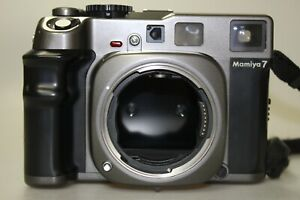 Mamiya 7 Rangefinder 6x7 Medium Format Film Camera Body Mint Very Good- Tested